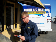 heavy equipment air conditioning repair