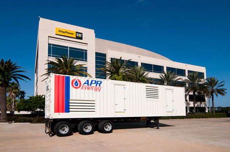 apr energy, caterpillar generator, ring power of florida sign aggrement