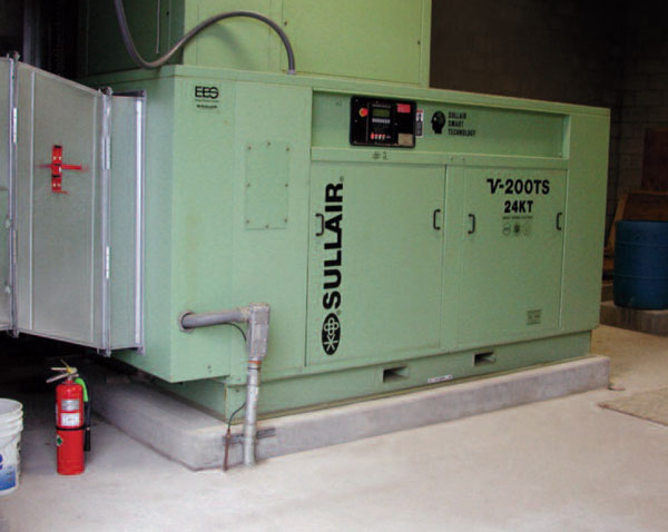 sullair electric air compressor