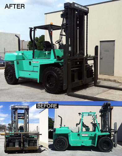 reconditioned forklift for sale
