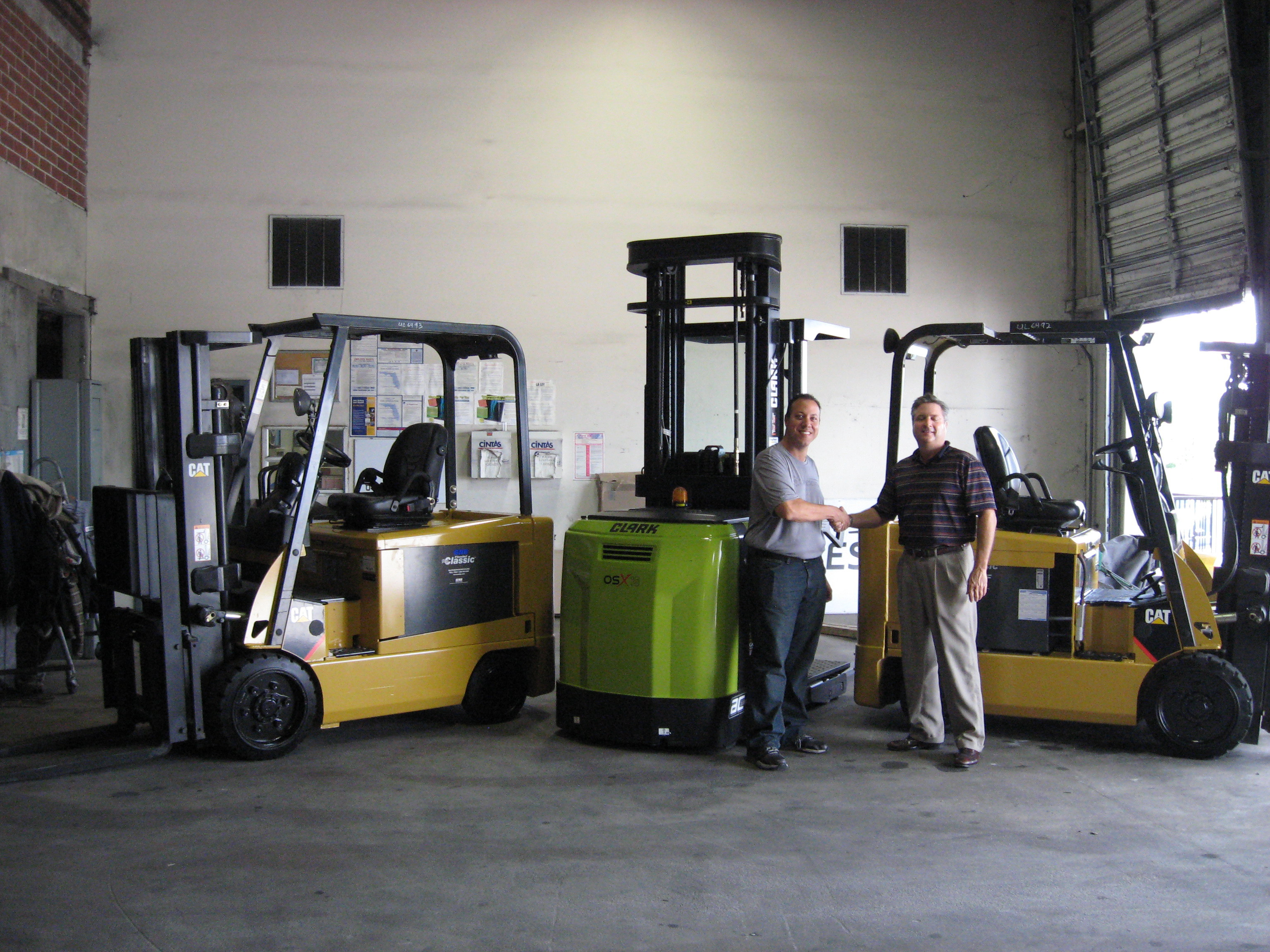 All posts tagged 'electric forklifts'