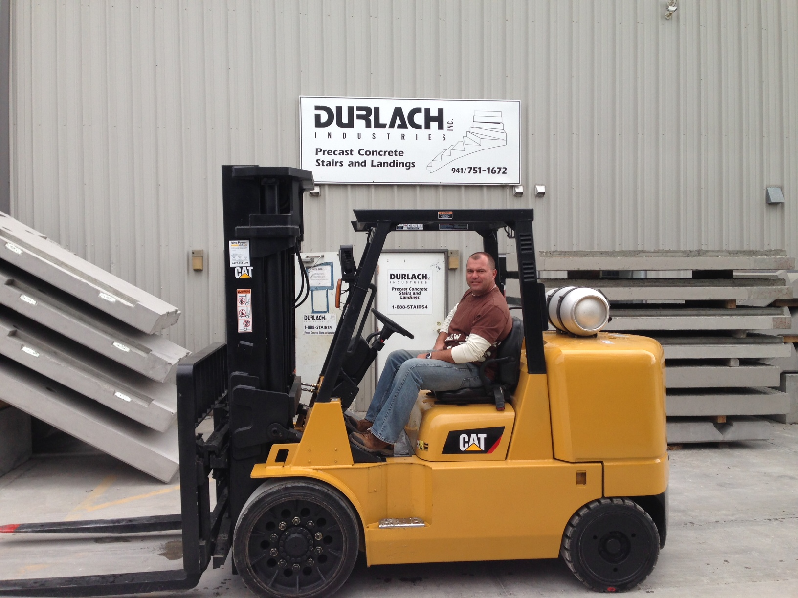All posts tagged forklift fla recently took delivery of a used forklift the certified used cat gc70k lp is the second cat lift truck the company has purchased from xflitez Choice Image