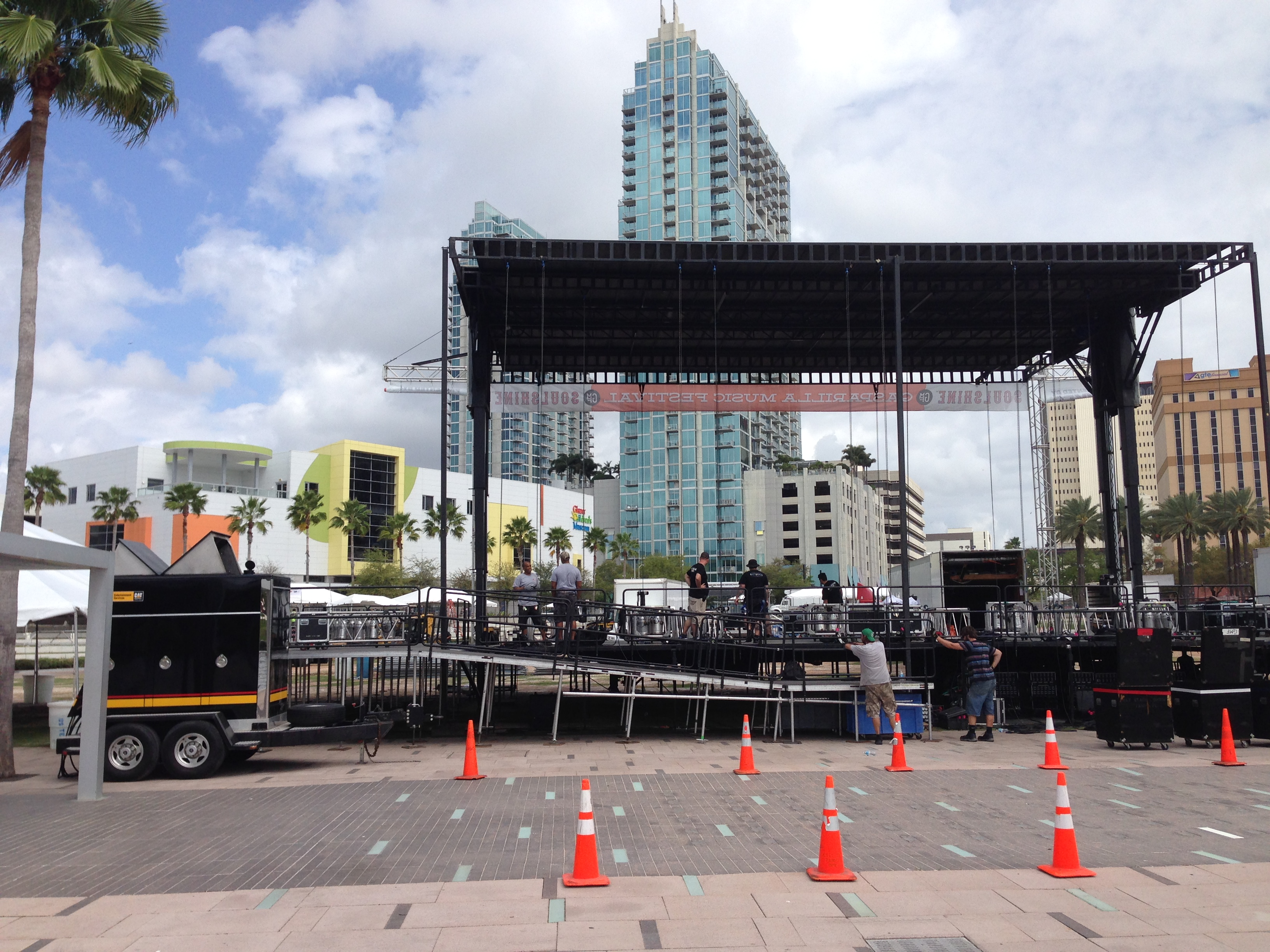 Cat Entertainment Services will power Tampa's Gasparilla Music Festival.
