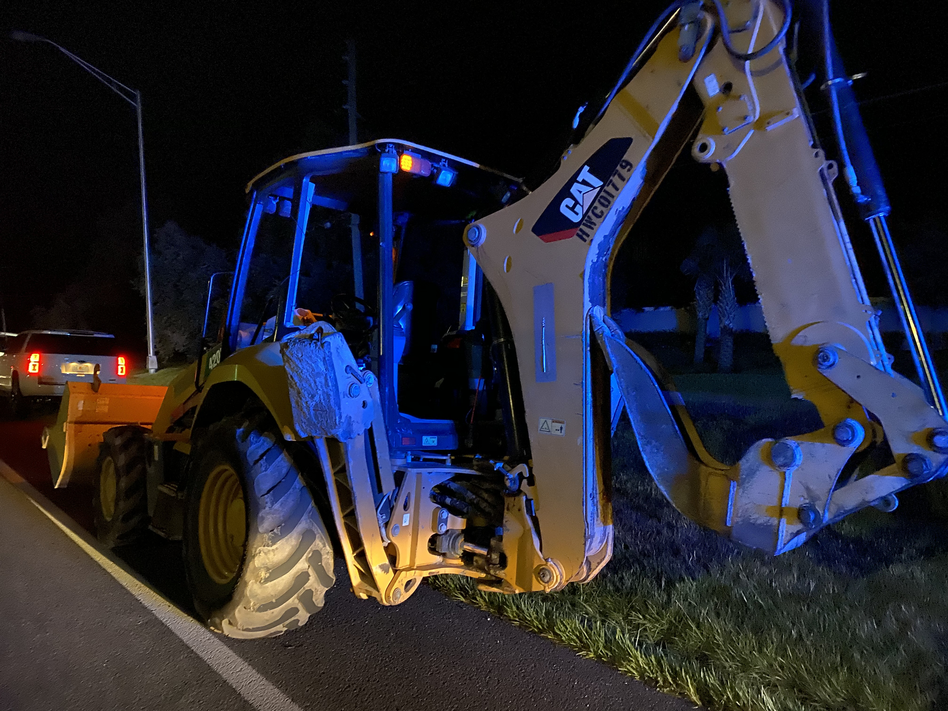 Detective Work Helps Recover Stolen Backhoe in Orlando