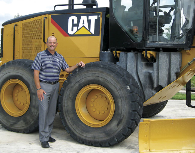 Tampa Heavy Equipment Sales Manager Toby Crews