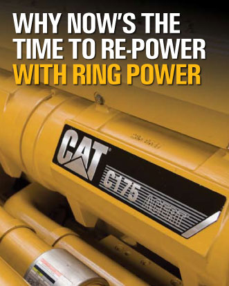 generator repower with Caterpillar