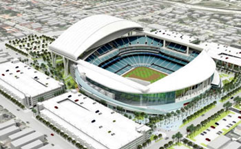 miami ballpakrk marlins stadium