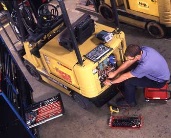 Forklift Service and Support