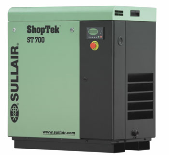 sullair air compressor shoptek