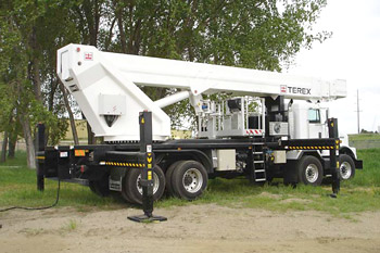 Terex Hi-Ranger Non-Overcenter Telescopic Aerial Device - TM Series