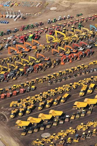 used heavy equipment auction